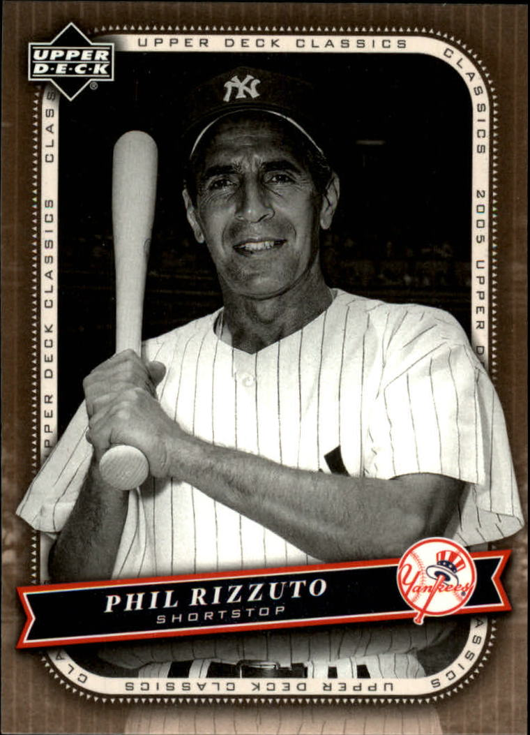 2005 Upper Deck Classics #77 Phil Rizzuto