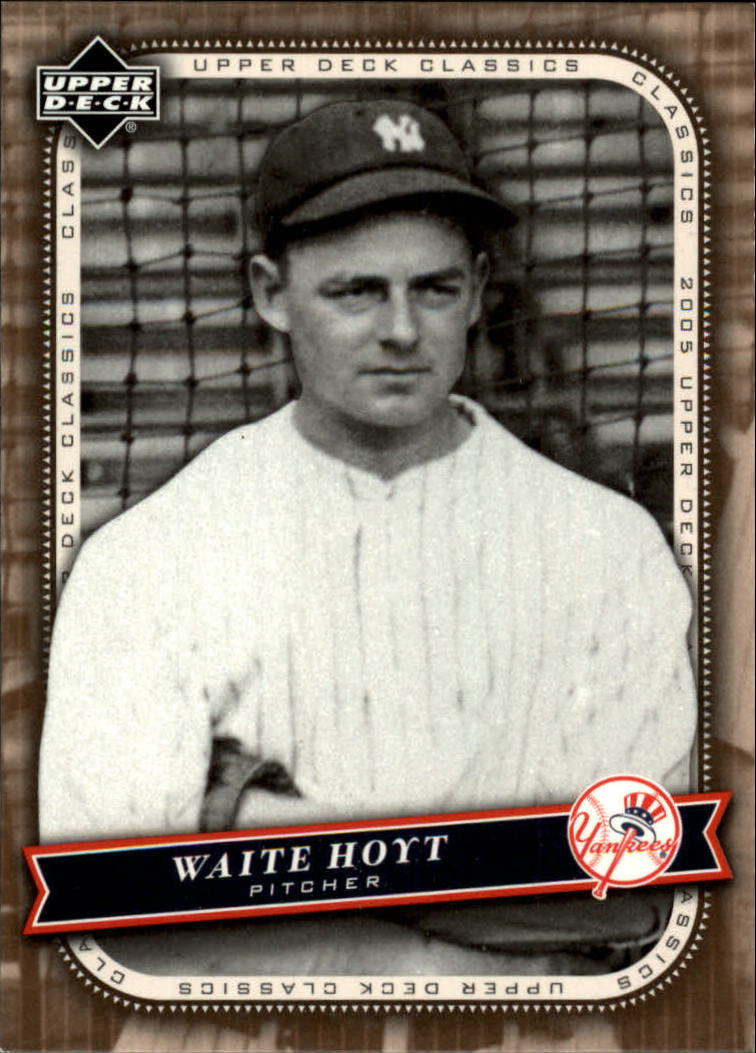 2005 Upper Deck Classics #95 Waite Hoyt