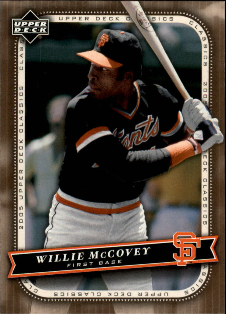 2005 Upper Deck Classics #97 Willie McCovey
