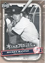 2005 Upper Deck Classics #119 Mickey Mantle RSR