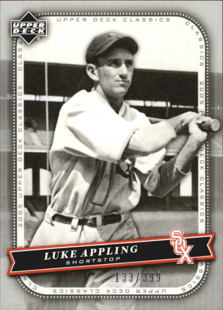 2005 Upper Deck Classics Silver #69 Luke Appling