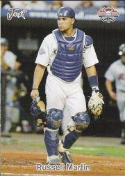 2005 Just The Road to the Show Bonus #8 Russell Martin