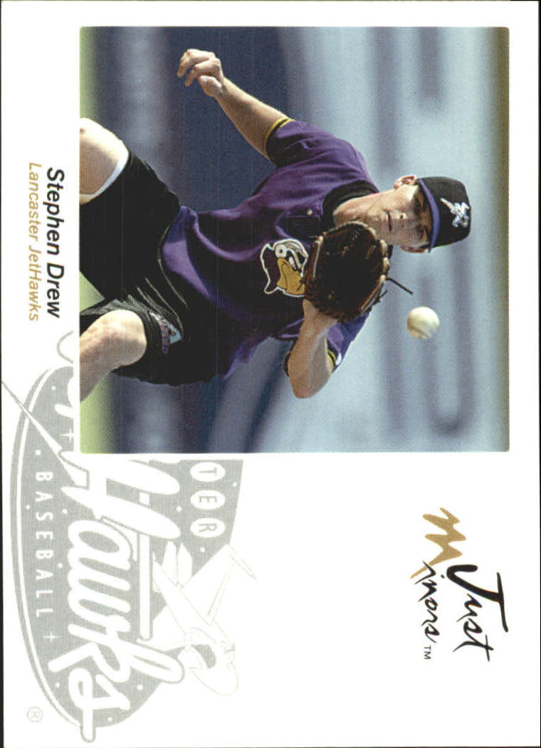 2005 Just Autographs #15 Stephen Drew