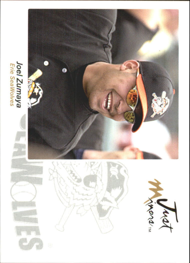 2005 Just Autographs #70 Joel Zumaya