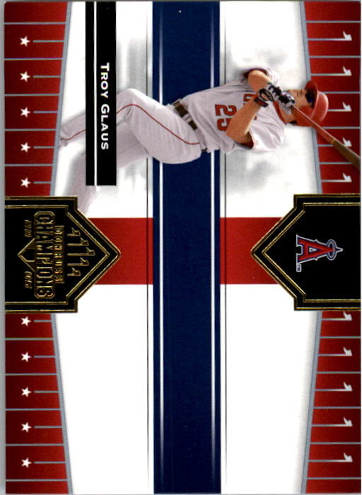2005 Donruss Champions #17 Troy Glaus Angels