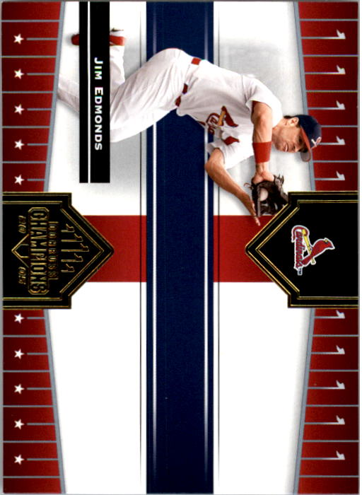 2005 Donruss Champions #26 Jim Edmonds