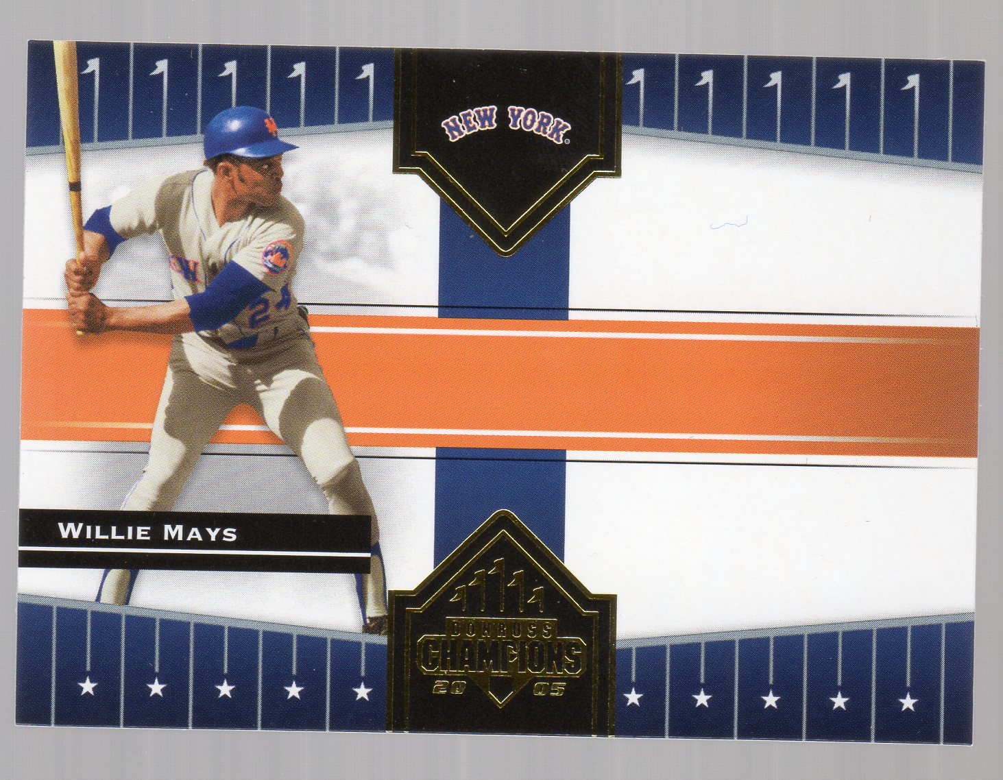 2005 Donruss Champions #232 Willie Mays Mets