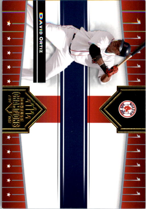 2005 Donruss Champions #350 David Ortiz Sox