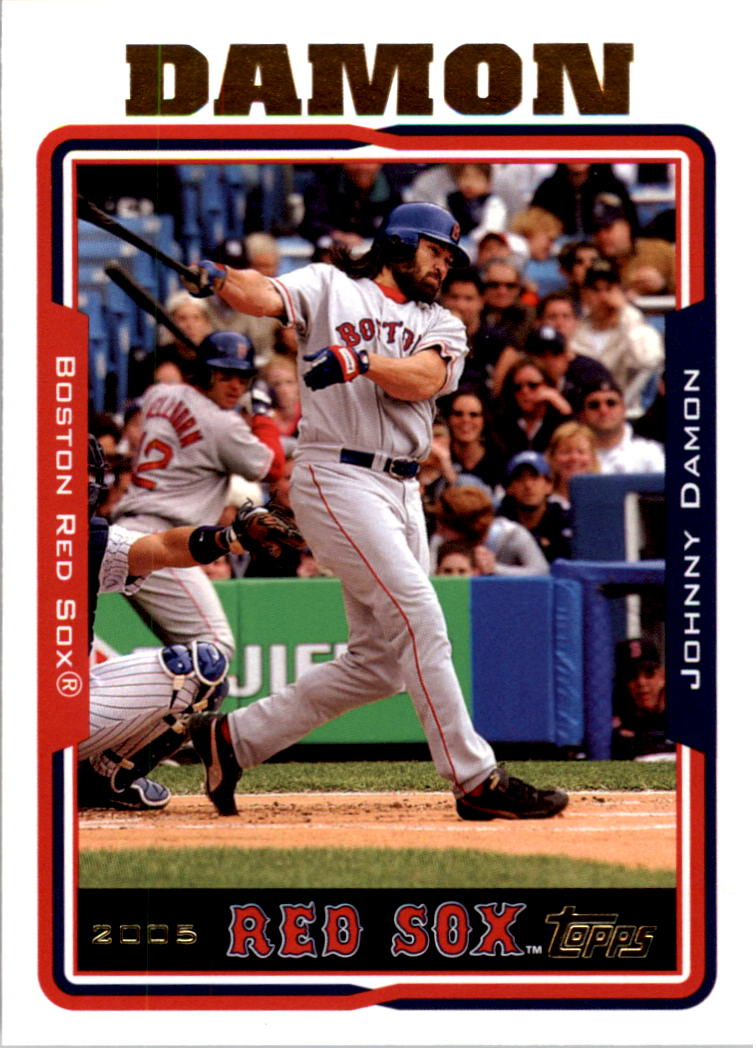 2005 Topps #5 Johnny Damon
