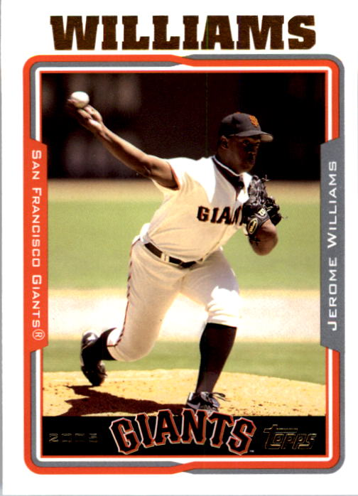 2005 Topps #92 Jerome Williams