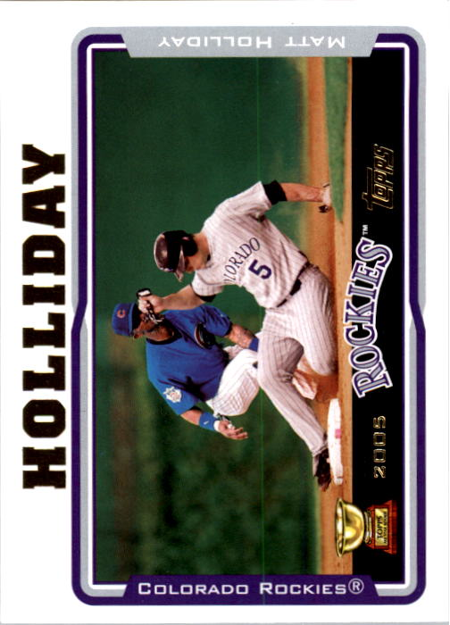 2005 Topps #136 Matt Holliday