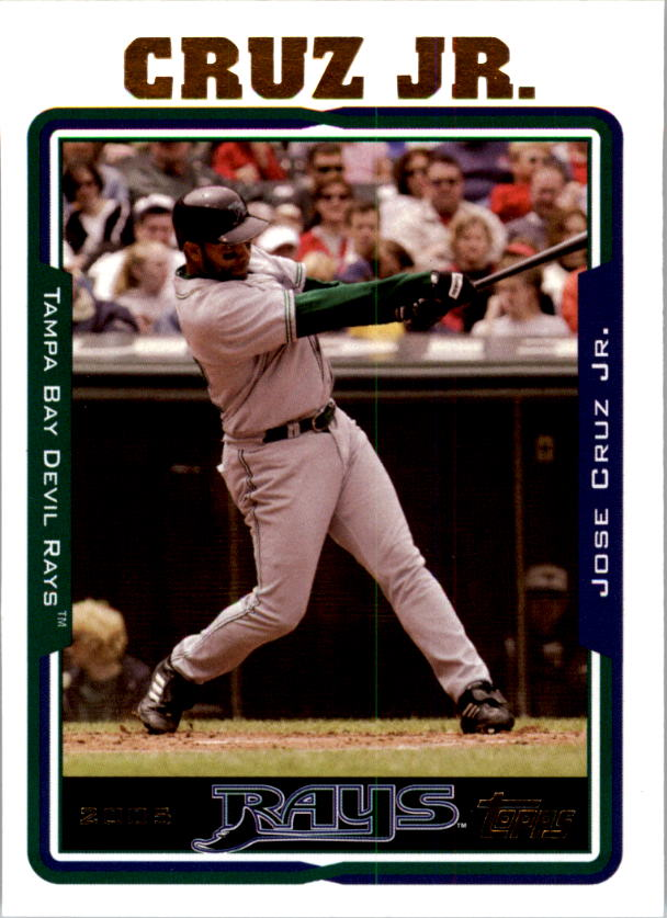 2005 Topps #261 Jose Cruz Jr.