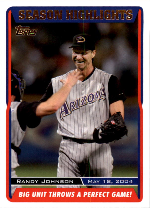 2005 Topps #332 Randy Johnson SH