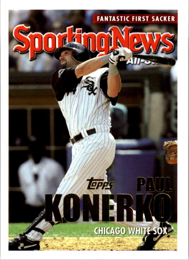 2005 Topps #356 Paul Konerko AS