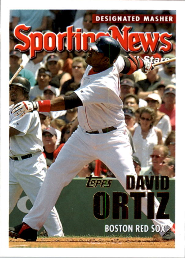 2005 Topps #366 David Ortiz AS