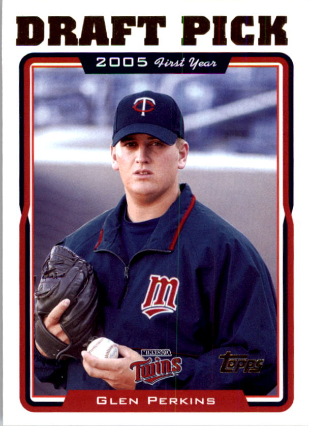 2005 Topps #672 Glen Perkins FY RC