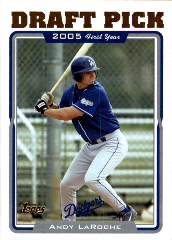2005 Topps #687 Andy LaRoche FY RC