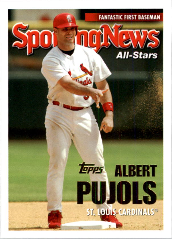 2005 Topps #719 Albert Pujols AS
