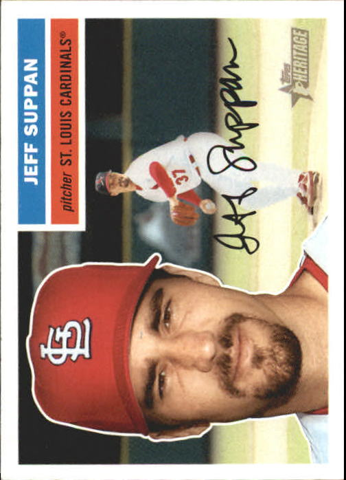 2005 Topps Heritage #86 Jeff Suppan