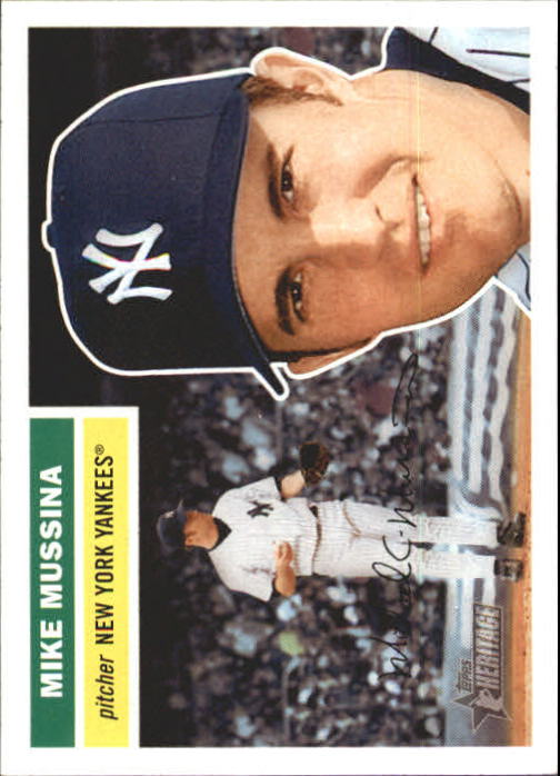 2005 Topps Heritage #181 Mike Mussina