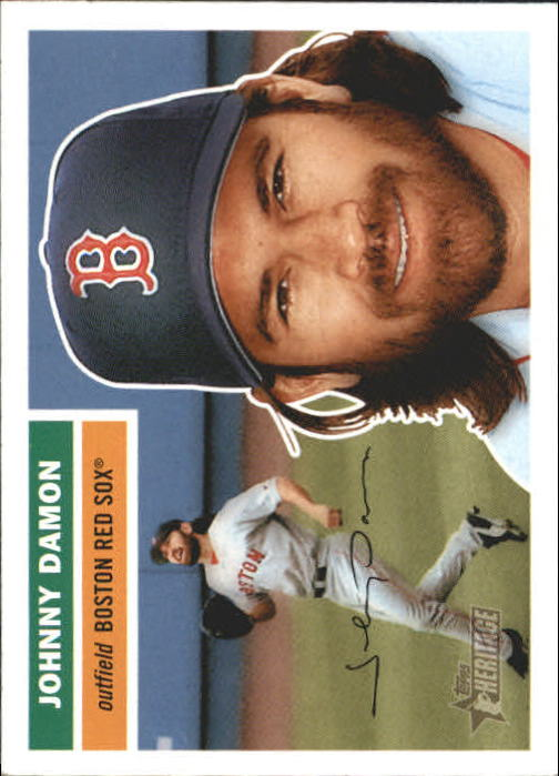2005 Topps Heritage #326 Johnny Damon