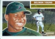 2005 Topps Heritage Chrome #THC102 Delmon Young