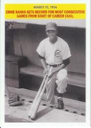 2005 Topps Heritage Flashbacks #EB Ernie Banks
