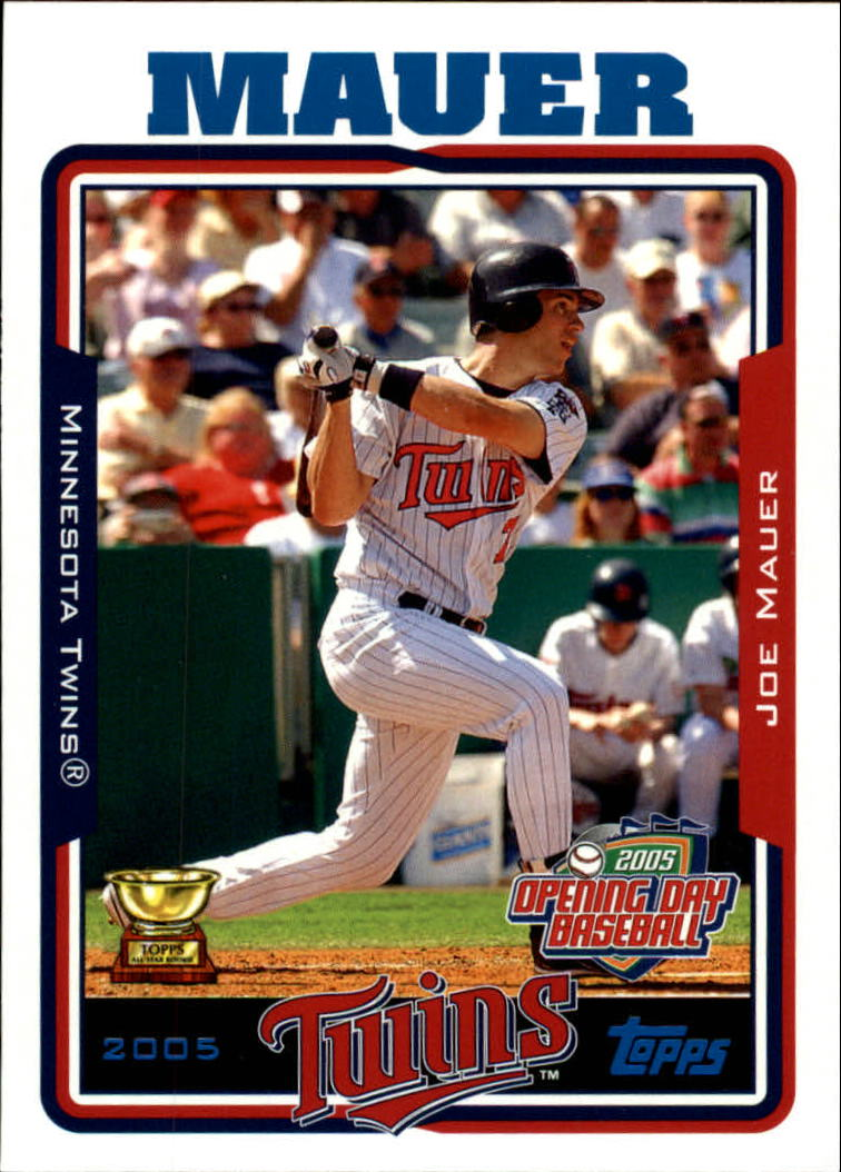 2005 Topps Opening Day #121 Joe Mauer