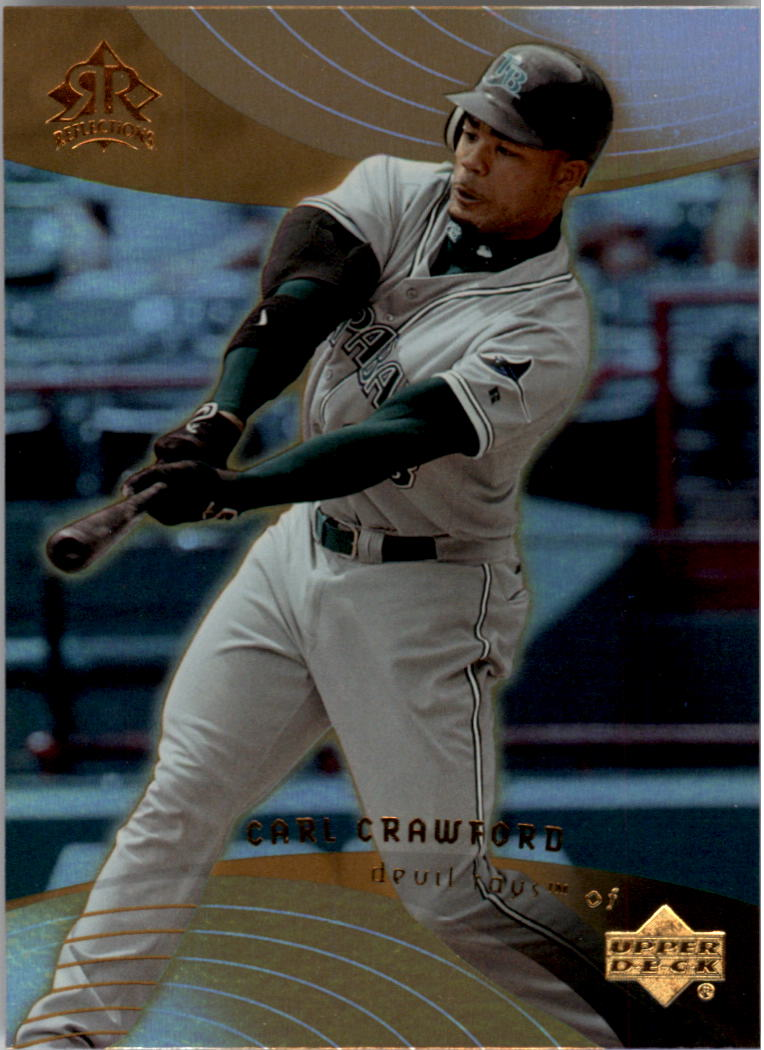 2005 Reflections #21 Carl Crawford