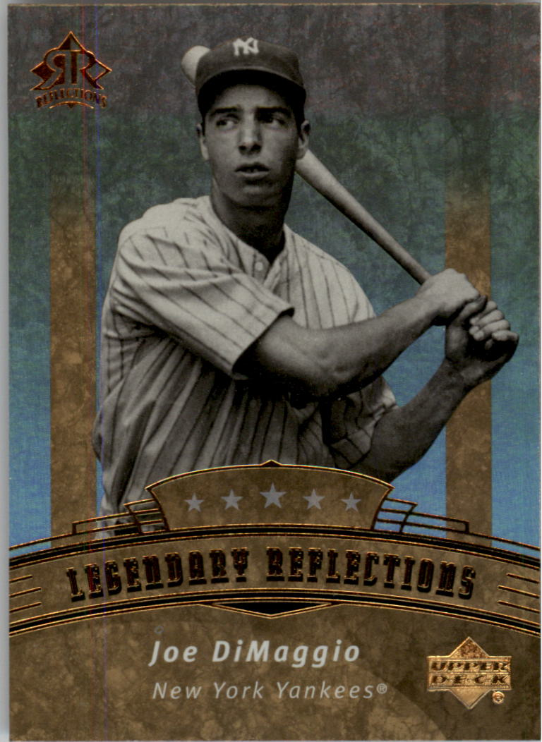 2005 Reflections #184 Joe DiMaggio LGD