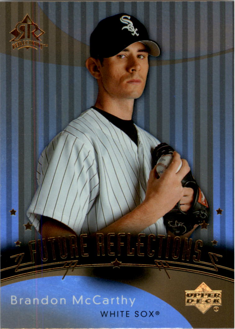2005 Reflections #206 Brandon McCarthy FR RC