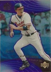 2005 Reflections Purple #47 Chipper Jones