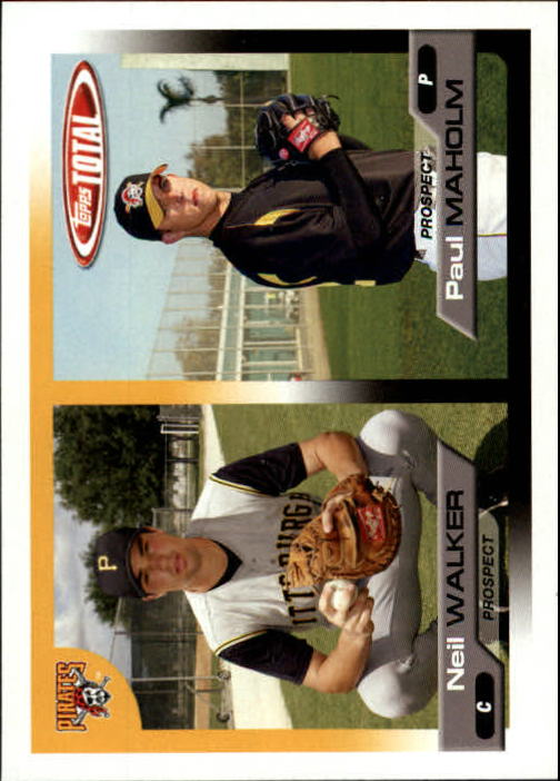 2005 Topps Total #712 N.Walker/P.Maholm