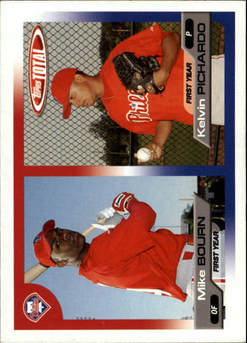 2005 Topps Total #754 M.Bourn RC/K.Pichardo RC