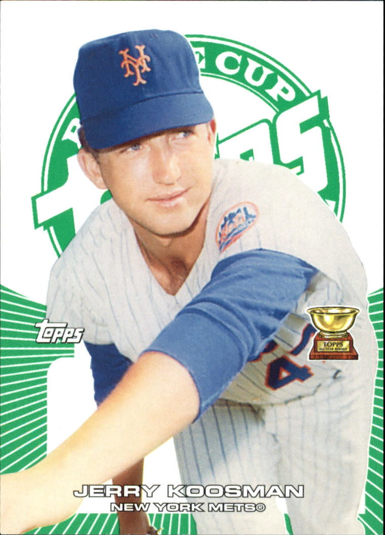 2005 Topps Rookie Cup Green #20 Jerry Koosman