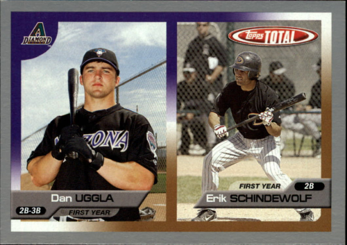 2005 Topps Total Silver #723 D.Uggla/E.Schindewolf