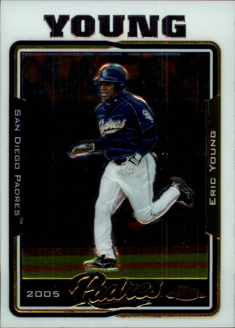 2005 Topps Chrome Update #6 Eric Young
