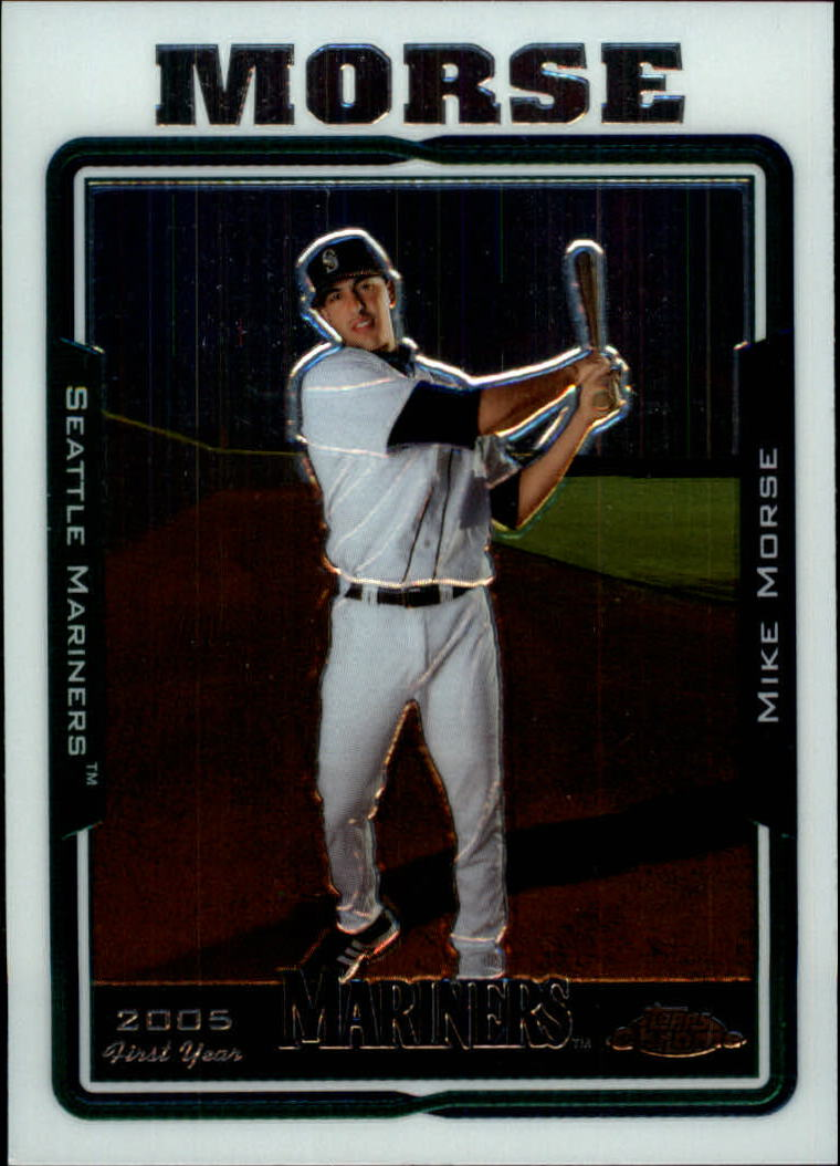 2005 Topps Chrome Update #109 Mike Morse FY RC