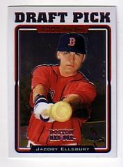 2005 Topps Chrome Update #202 Jacoby Ellsbury FY RC