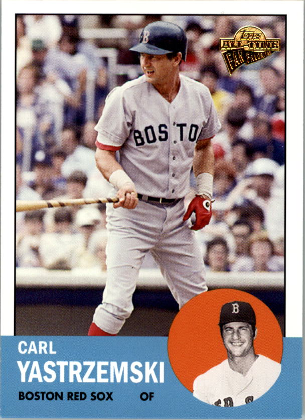 2005 Topps All-Time Fan Favorites #78 Carl Yastrzemski