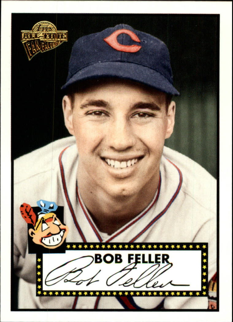 2005 Topps All-Time Fan Favorites #88 Bob Feller