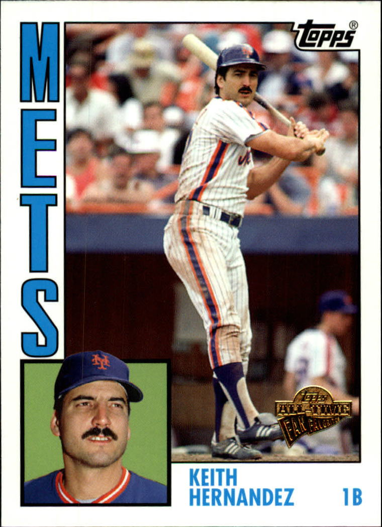 2005 Topps All-Time Fan Favorites #99 Keith Hernandez