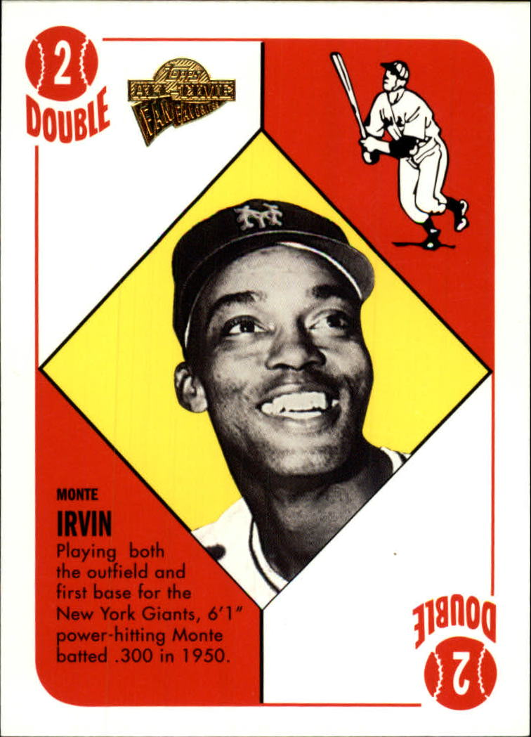 2005 Topps All-Time Fan Favorites #100 Monte Irvin