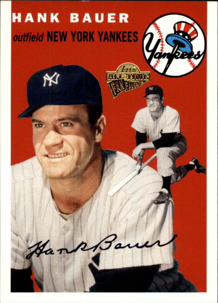 2005 Topps All-Time Fan Favorites #103 Hank Bauer