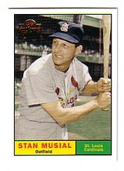 2005 Topps All-Time Fan Favorites #123 Stan Musial