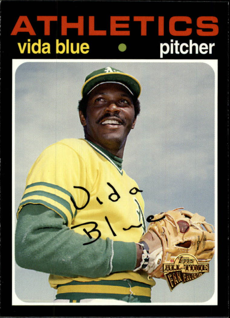 2005 Topps All-Time Fan Favorites #128 Vida Blue