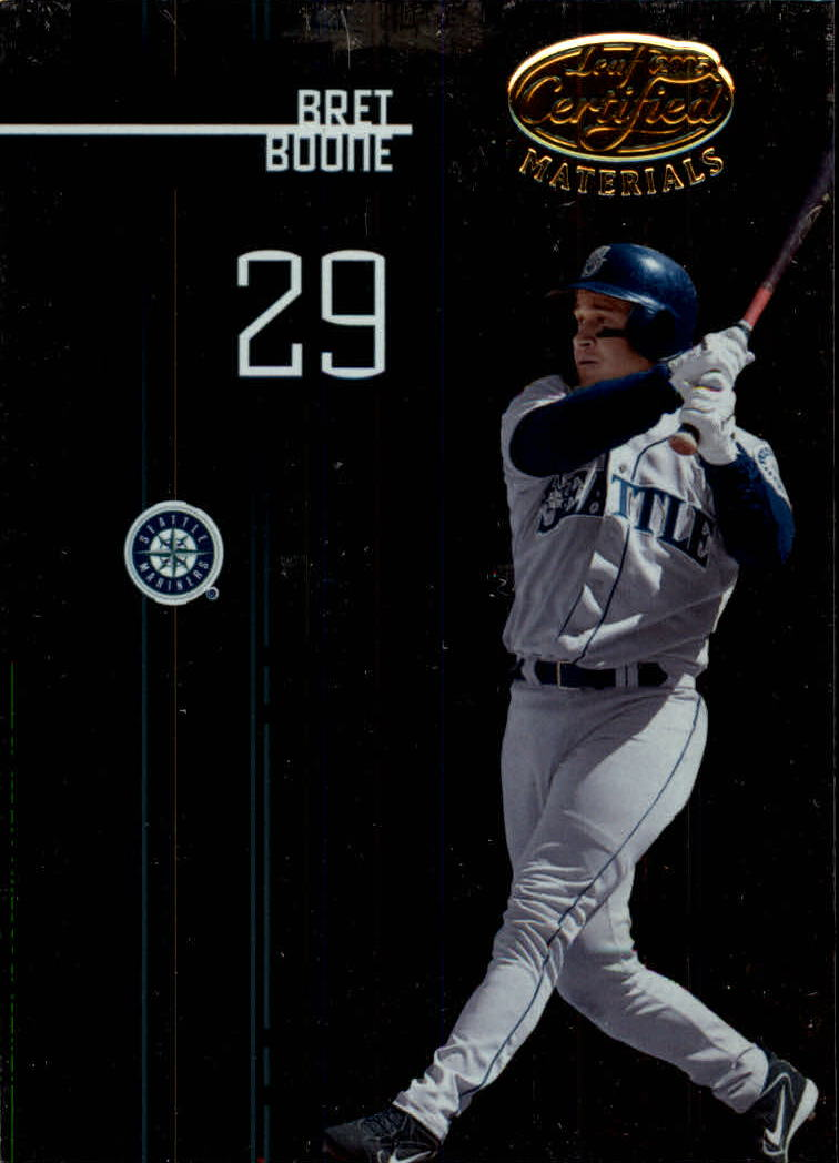 2005 Leaf Certified Materials #4 Bret Boone