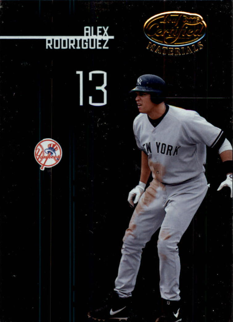 2005 Leaf Certified Materials #6 Alex Rodriguez
