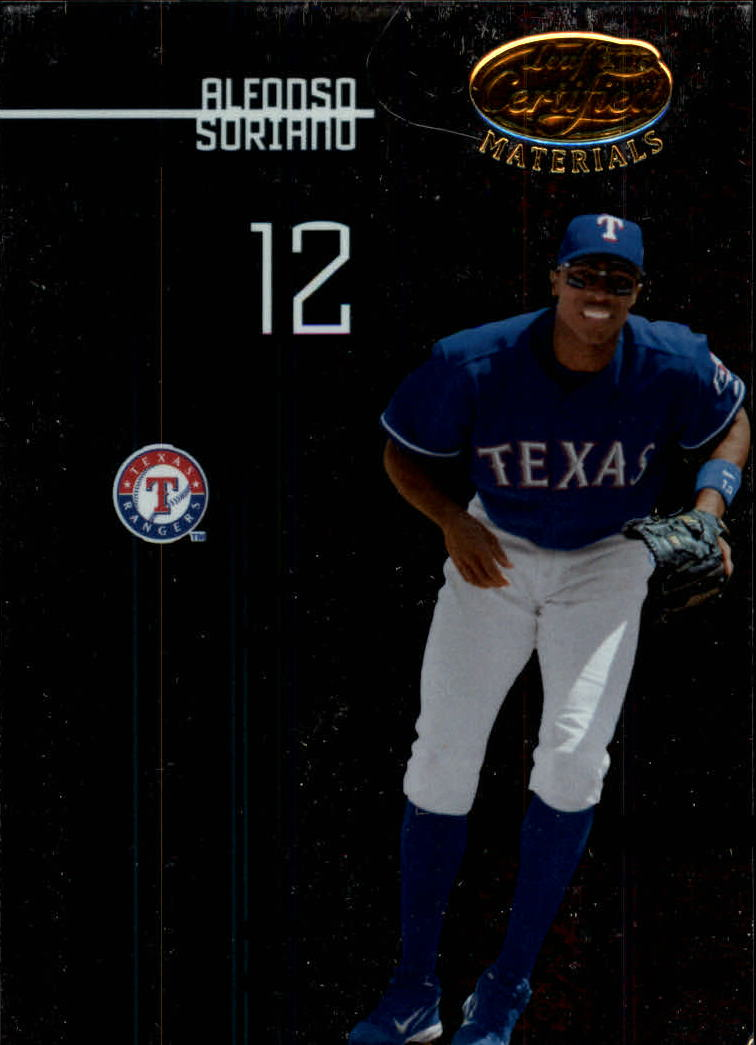 2005 Leaf Certified Materials #7 Alfonso Soriano