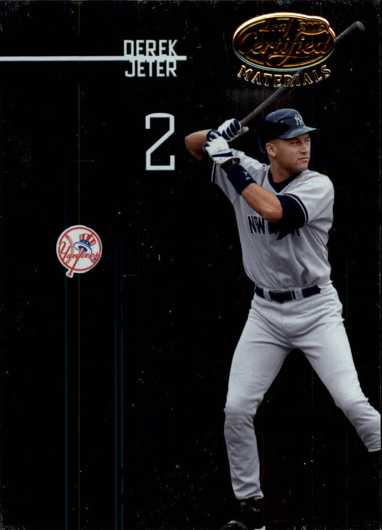 2005 Leaf Certified Materials #35 Derek Jeter